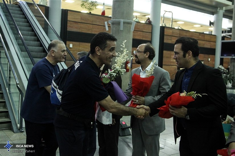 Iranian Athletes Come Back Home with 17 Medals/ In Photos