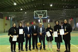 قهرمانی واحد اصفهان در مسابقات بسکتبال 3 نفره دختران دانشگاه آزاد اسلامی