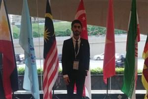 طلای مسابقات جهانی اختراعات و نوآوری های مالزی بر گردن دانش آموز سما مشهد