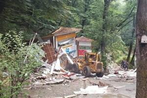 بخشهایی از سفره خانه سنتی معروف ناهارخوران گرگان تخریب شد