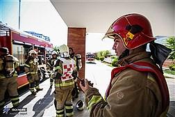 مانور مشترک امداد و نجات در بیمارستان فرهیختگان