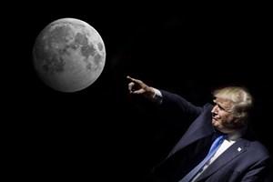 سؤال ترامپ از مدیر ناسا: چرا به مریخ نمیرویم؟