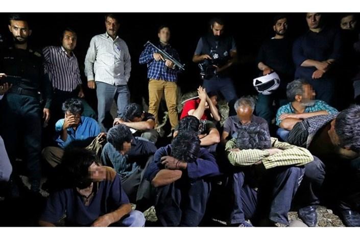 دستگیری ۱۵ خرده فروش و فروشنده اصلی مواد مخدر