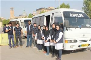 آغاز فعالیت گروه جهادی سلامت دانشگاه آزاد اسلامی در خوزستان