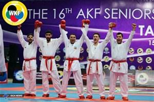 درخشش ملی پوشان کاراته دانشگاه آزاد اسلامی در مسابقات قهرمانی آسیا