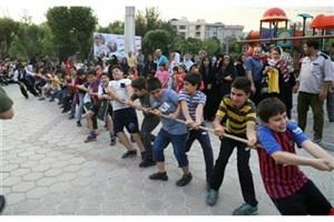 برگزاری جشنواره بازی های بومی و محلی در بوستان پیروزی