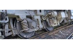 در حادثه خروج قطار، یک نفر مصدوم شد