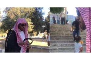 خبرنگار سعودی با «ناسزا و تحقیر» از مسجدالاقصی اخراج شد