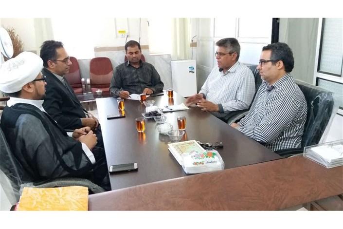 هئیت رئیسه واحد سراوان با رییس بنیاد شهید و امور ایثارگران این شهرستان دیدار کرد
