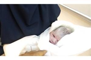 نوزاد عجول در مترو دروازه دولت به دنیا آمد+عکس