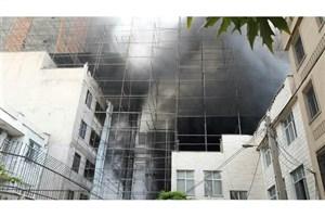 آخرین جزییات از آتش سوزی دراتوبان نیایش/ محبوس شدن کارگران صحت ندارد