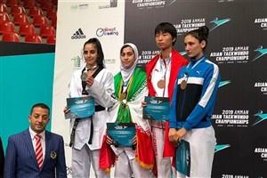 کسب مدال طلا مسابقات تکواندو نوجوانان آسیا توسط دانش آموز سما دانشگاه آزاد اسلامی کرج