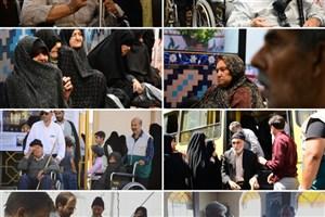 جذامیهای مشهد به زیارت امام رضا(ع) مشرف شدند