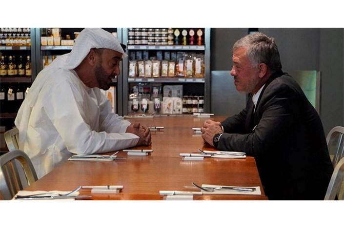 شاه اردن ولی عهد امارات