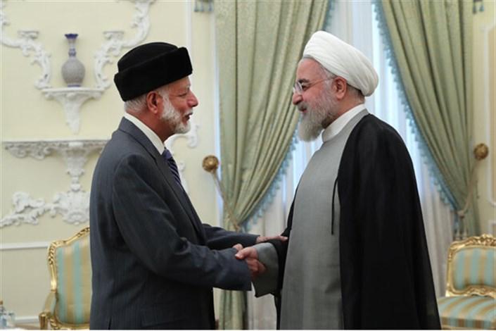 روحانی و وزیرخارجه عمان