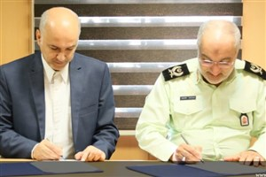 امضای تفاهمنامه همکاری میان پژوهشگاه فضایی ایران و پلیس مبارزه با مواد مخدر