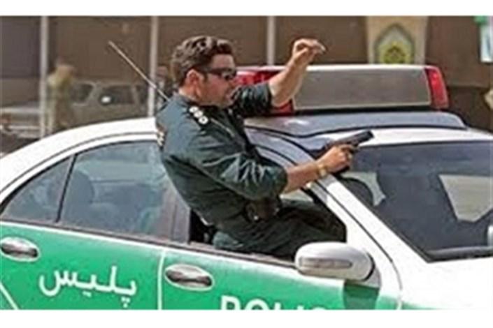 تعقیب و گریز پلیس و سارقان