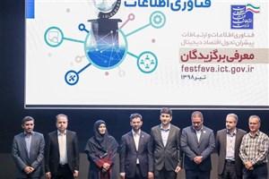 بسته حمایتی برای برگزیدگان جشنواره و جایزه ملی کیفیت ICT