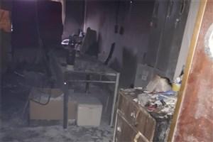 خوابگاه ریحانه در آتش سوخت/ معاون فرهنگی: اتفاق خاصی نیفتاده!