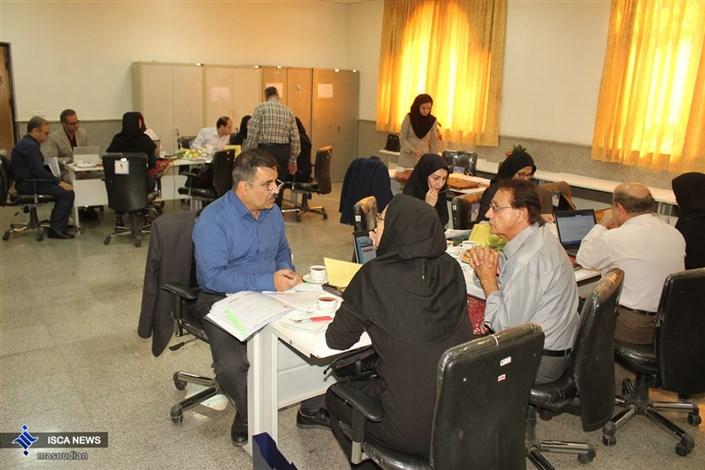 جلسه ارزیابی بیرونی دوره پزشکی عمومی در دانشکده علوم پزشکی