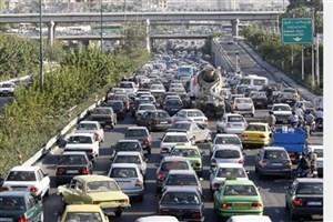 وضعیت ترافیکی بزرگراه های  تهران در چهل و یکیمن روز تابستان