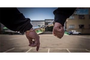 شرور خزانه زمین گیر شد/دستبند قانون بردستان شروری  که سابقه 18 سال حبس دارد