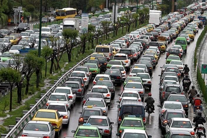 وضعیت  ترافیک صبحگاهی