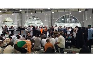 برگزاری محفل بزرگ قرآنی در مسجدالحرام / استقبال حجاج از قاریان ایرانی+عکس