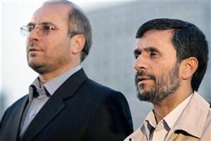پیرهادی: قالیباف به عیادت احمدی نژاد رفته بود