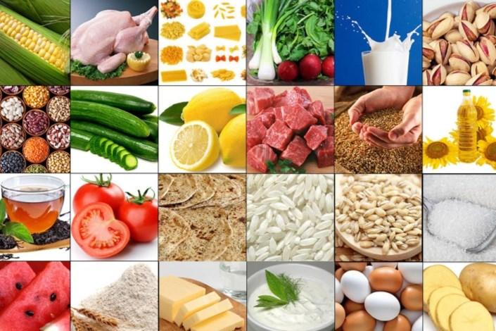 افزایش قیمت اقلام خوراکی