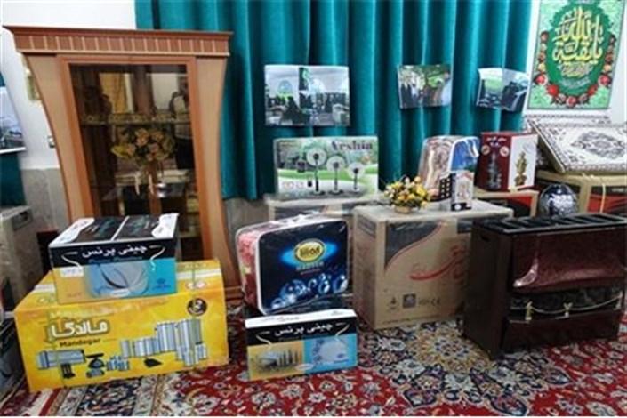 اهدای جهیزیه به نوعروسان کمیته امداد