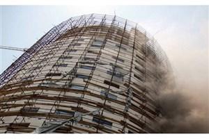 تخلیه ساختمانهای اطراف هتل آسمان / احتمال ناپایداری سازه ؛ مردم اطراف هتل نیایند