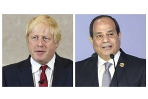گفتوگوی تلفنی نخستوزیر انگلیس و رئیسجمهور مصر