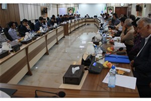 جلسه رفع نواقص بودجه دانشگاه آزاد استان خوزستان برگزار شد