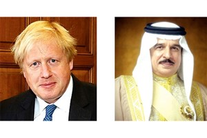 گفتوگوی تلفنی شاه بحرین و نخستوزیر جدید انگلیس