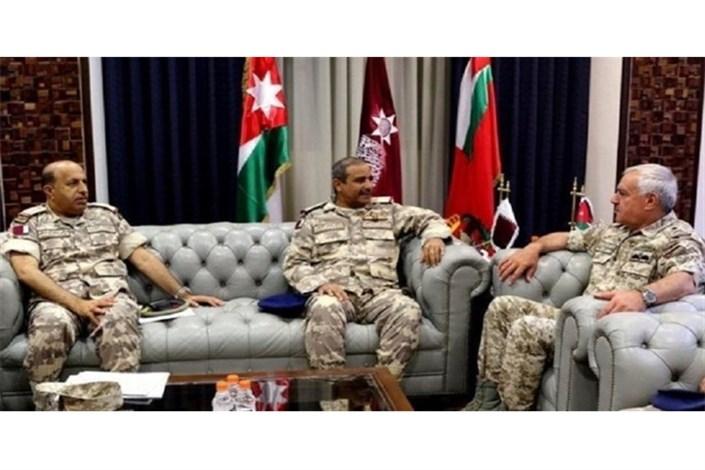 فرماندهان قطر و اردن