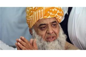 مولانا فضلالرحمن: «عمرانخان» کشمیر را به «ترامپ» فروخت