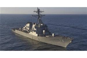 یک کشتی آمریکایی وارد آبهای قطر شد