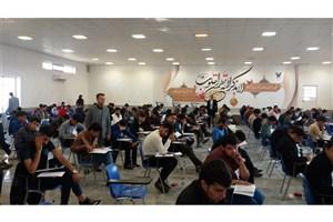 آزمون استخدام پیمانی آتش نشانی در واحد بوشهر برگزار شد