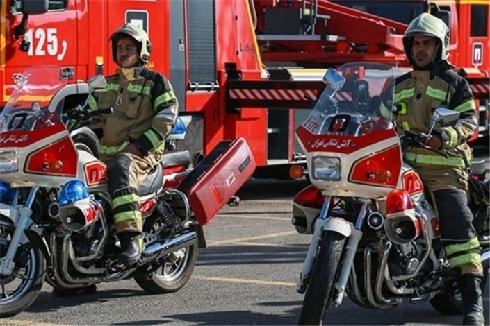 ورود موتور چهار چرخ به ایستگاههای آتش نشانی بازار