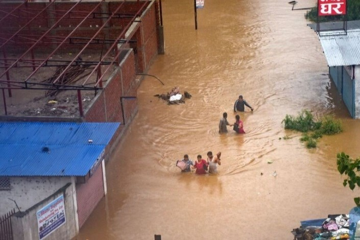 افزایش قربانیان سیلابهای هند به ۱۱۵ نفر