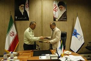 امضاء تفاهمنامه همکاری میان واحد شهر قدس و فرماندهی انتظامی