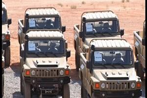 خودروی تاکتیکی ارس ۲ تحویل نیروهای مسلح شد