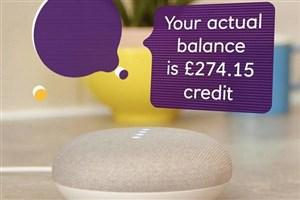 دسترسی به حساب بانکی با استفاده از اسپیکر هوشمند