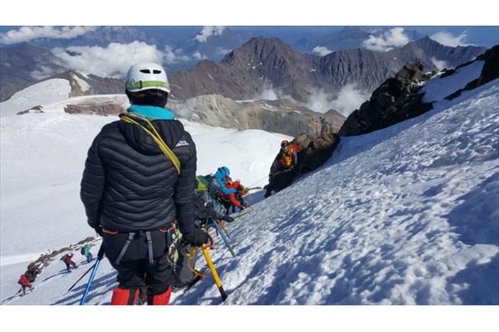 South Tehran IAU Student Conquers Mount Kazbek