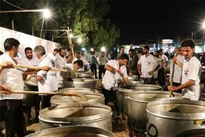 اطعام ۲۱۳ هزار نفر در مناطق محروم در روز عید غدیر
