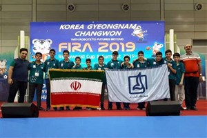 Iranian Students Shine in 2019 FIRA RoboWorld Cup