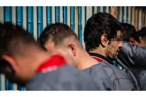 دستگیری اراذل و اوباش  خیابان شمشیری و چرخاندن در محله