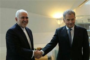 ظریف با رئیسجمهور فنلاند دیدار و گفتگو کرد