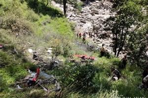 سه کشته در سقوط مرگبار بالگرد امدادی در هند